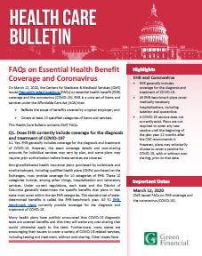 HC Bulletin - FAQs on Essential Health Benefits